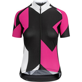 ASSOS Fastlane Rock Maillot Manches courtes Femme, pong pink